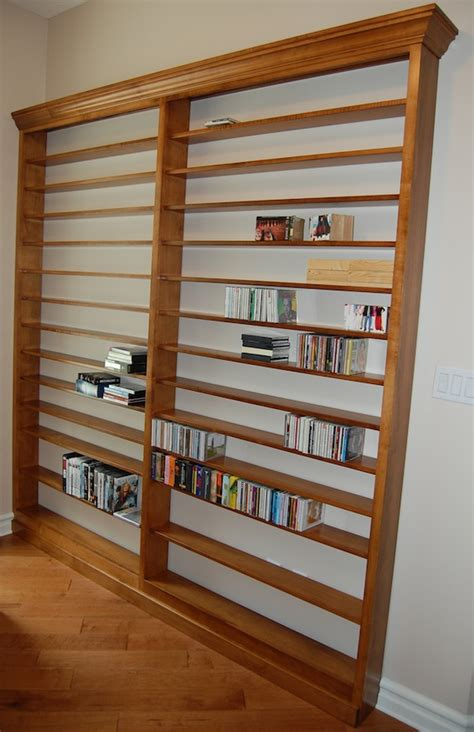 custom dvd cd wall shelf unit haus custom