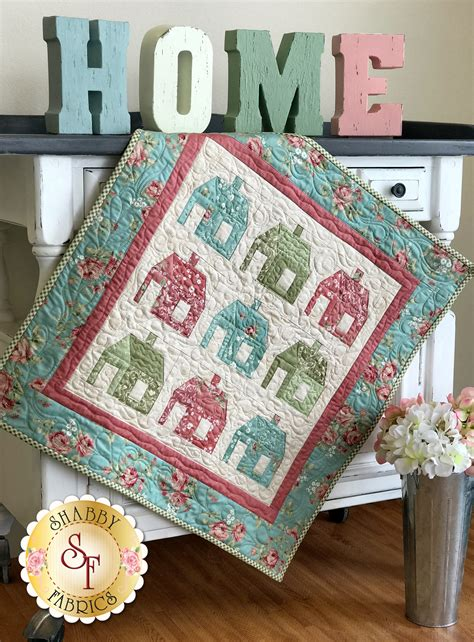 Patchwork Wall Hangings - patchwork schoolhouse wall hanging kit