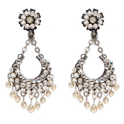 Crystal And Gold Chandelier Chandelier Earrings Hypoallergenic Earrings