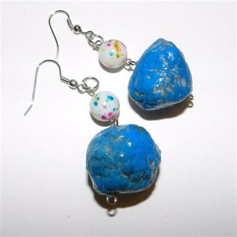 How To Make Paper Mache Jewelry - 1000 images about paper mache earring on