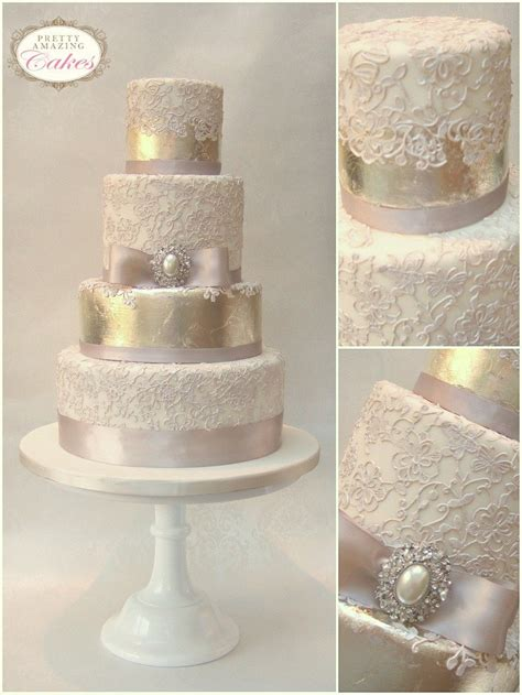 Vintage Wedding Cakes by Wedding Cakes Bristol Gloucester Bespoke Wedding Cakes