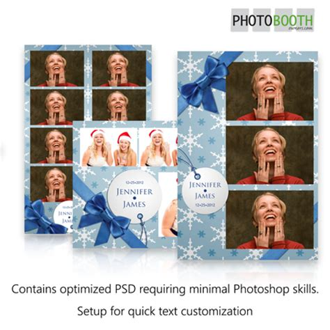 breeze photo booth layout holiday gift in blue photo booth templates for breeze