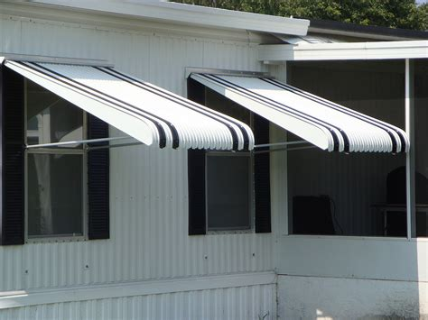 metal awnings for houses strong and durable aluminum awnings haggetts aluminum