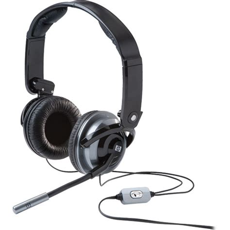 Headset Hp hp premium stereo headset rf823aa aba b h photo