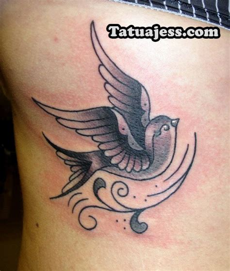 imagenes tatuajes blanco y negro tatuajes de golondrinas 187 ideas y fotograf 237 as