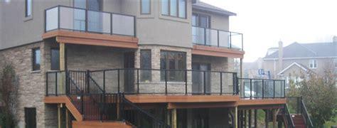 Decks Oakville by Glass Deck Railings