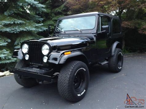 1986 jeep cj7 parts 1986 jeep cj7 completely restored