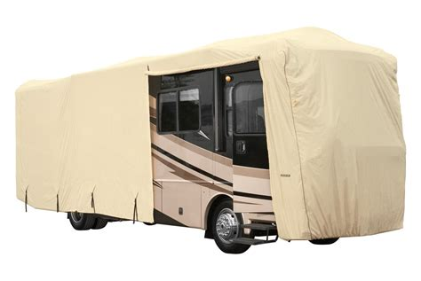 rv slipcovers eevelle 174 glrva4244t goldline tan class a rv cover 533