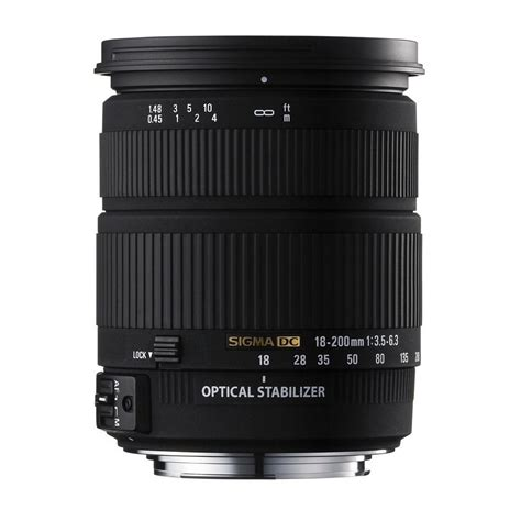Sigma Lensa 18 200mm F 3 5 6 3 Dc Macro Os Hsm C For Nikon sigma 18 200mm f 3 5 6 3 dc os interchangeable lens review