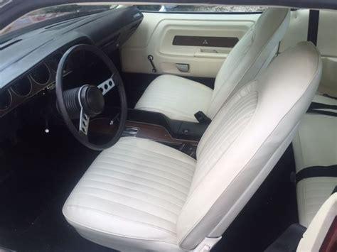 White Challenger Interior by 1974 Dodge Rallye Challenger Big Block 383 With