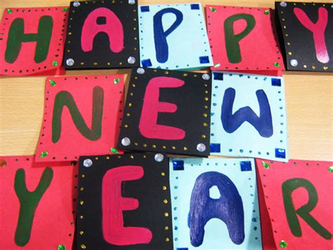 new year banner craft new year banner free new year crafts for