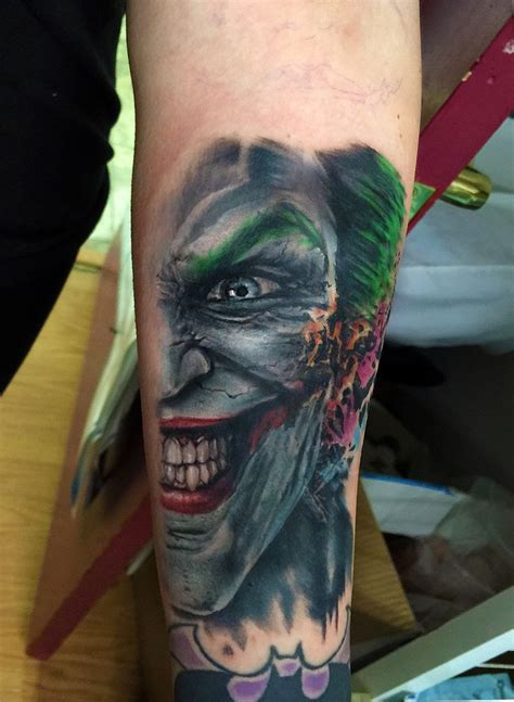 batman and joker tattoo 46 best mask images on image arm