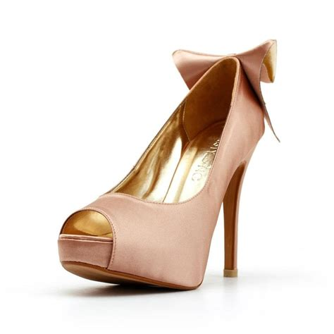 Blush Colored Shoes For Wedding by Blush Wedding Shoes Pink Wedding Shoe With Bow Blush Colored
