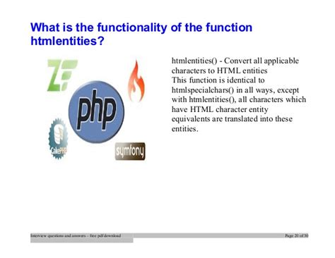 php tutorial questions top php interview questions and answers job interview tips