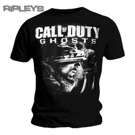 Tshirt Cal Master official t shirt call of duty xbox graphic ghosts all
