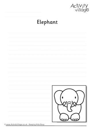 elephant writing paper elephant writing paper best elephant 2017
