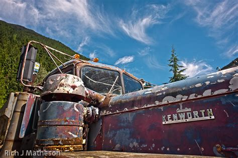 kenworth canada abandoned canadian kenworth truck the