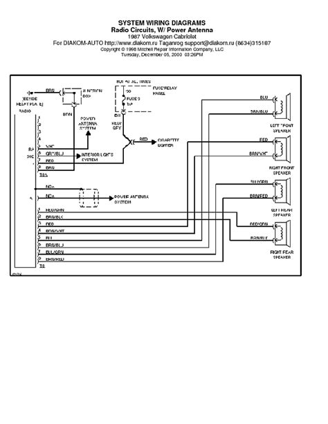 vw passat radio wiring diagram efcaviation