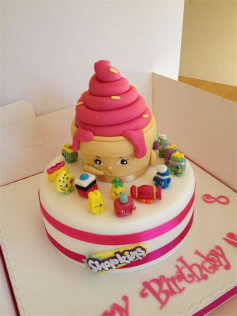Handmade Birthday Cake - shopkins birthday cake with handmade shopkins shopkins
