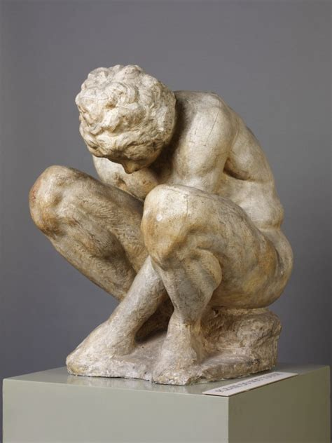 epph michelangelo sculpture image gallery crouching boy michelangelo v a search the collections