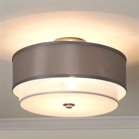 Shade For Ceiling Light Drum Shade Ceiling Light Roselawnlutheran