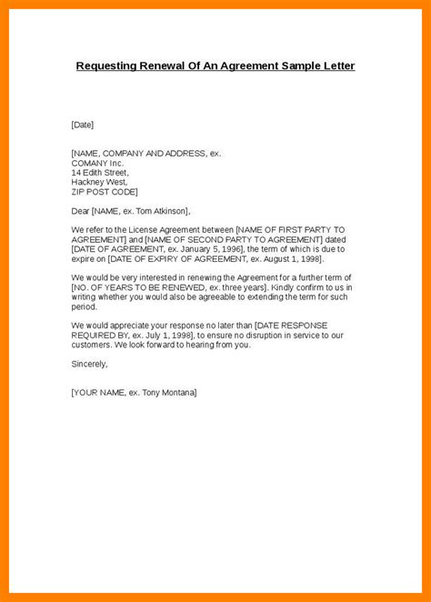 Decline Renewal Letter Cover Letter Sle Of Agreement For Services Best Photos