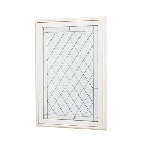 vinyl awning window tafco windows 18 in x 24 in single hung vinyl window