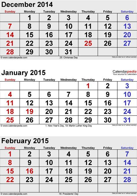 printable calendar december 2014 january 2015 best of calendar 2014 december 2015 january print calendar