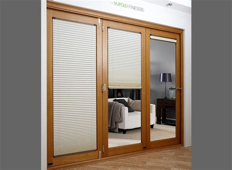 blinds for doors uk finesse oak 1 8m approx 6ft bifold door blinds