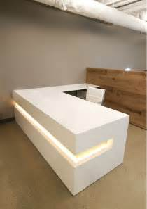 White Reception Desk Buy A Custom White Lacquer Reception Desk Made To Order From Ironwood Furniture Studio