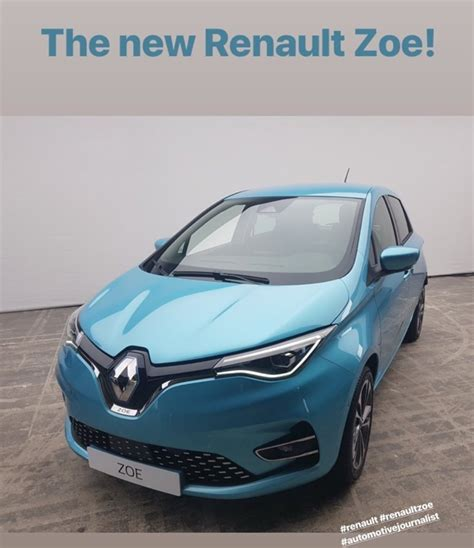 Zoe Renault 2020 by 2020 Renault Zoe Reveals New With Clio Inspired