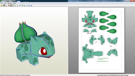 How To Make Origami Bulbasaur - papercraft bulbasaur papercraft bulbasaur