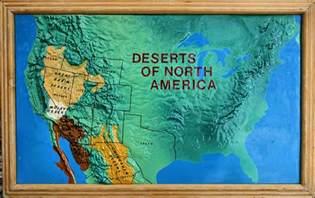 deserts of america map deserts of america flickr photo
