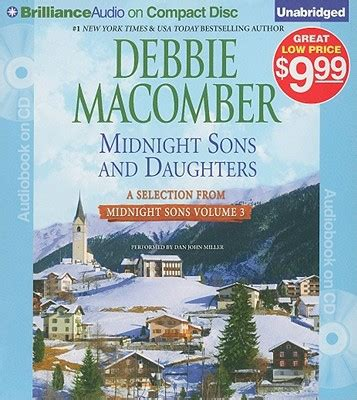 midnight sons and daughters by debbie macomber dan miller audio compact disc unabridged