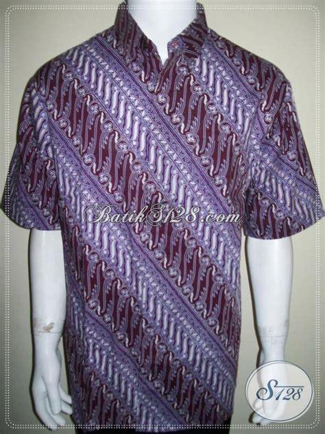 Jual Baju Pria jual baju batik pria lebaran warna soft kalem 2013 batik ld763ct xl toko batik
