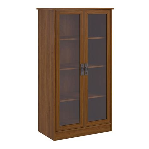 Tall Bookcase With Glass Doors In Bookcases Bookcase With Doors