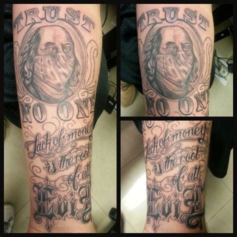 money tattoos ideas 17 best images about money tattoos on word