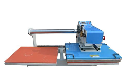 pneumatic working table large format heat press