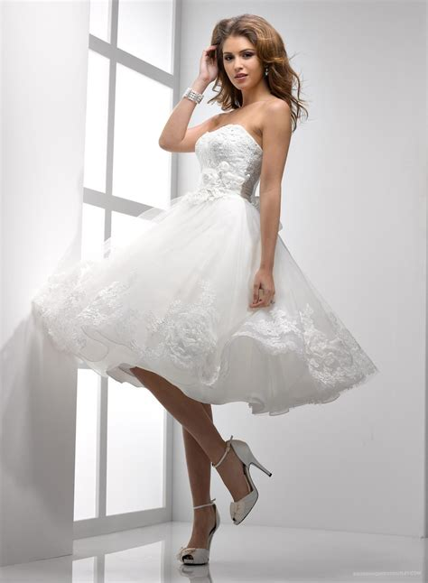 perfect short wedding dresses outdoor wedding hairs