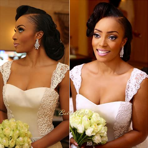 bella naija bridal hair styles bella naija celebrity weddings 2017 mini bridal