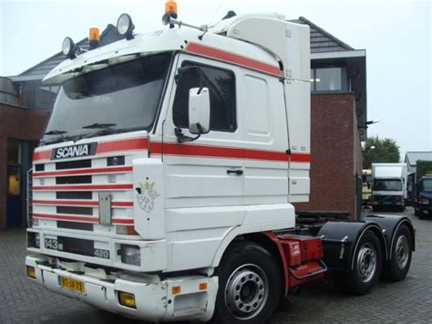 scania 143 420 v8 6x2 tractor unit from netherlands for