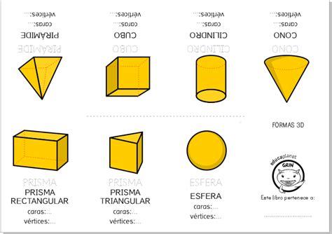 figuras geometricas y sus nombres en 3d formas geom 233 tricas 3d ficha y juegos gratis para casa o