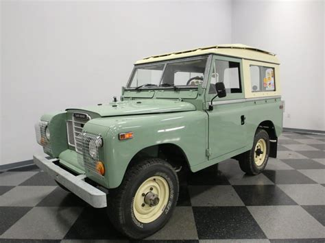 land rover series 3 interior 1974 land rover series iii streetside classics the