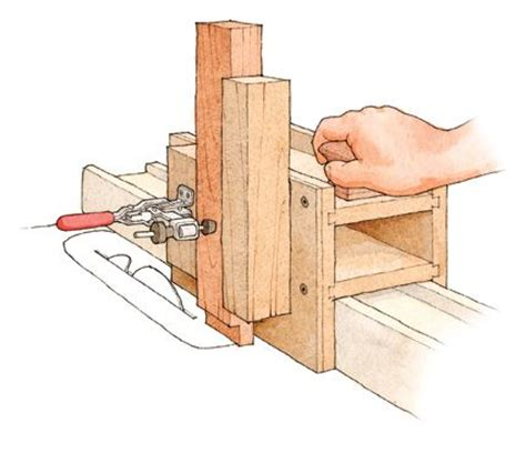 tenon jig plans  woodworking projects plans