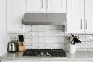how to install a backsplash in a kitchen subway tile kitchen backsplash how to withheart