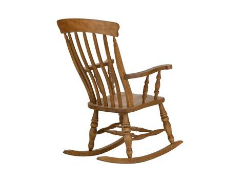 Beech Slat Rocking Chair   LPC Furniture