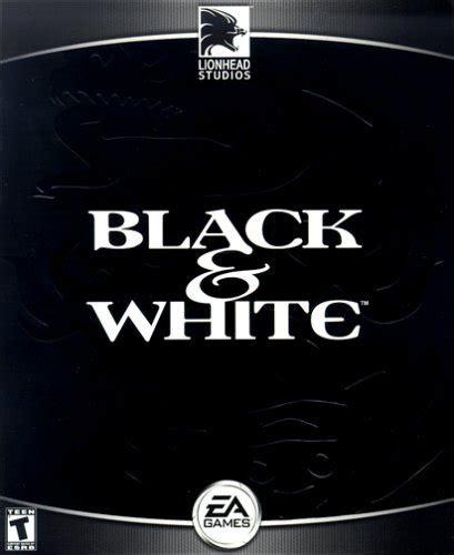 black and white game black white pc ign