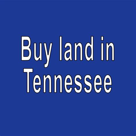 Search In Tennessee Land For Sale In Tennessee