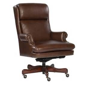 Desk Chair Leather Coffee Leather Executive Office Desk Chair Ebay