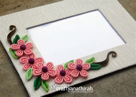 How To Make Handmade Frames For Pictures - craftyanathirah simply handmade frames